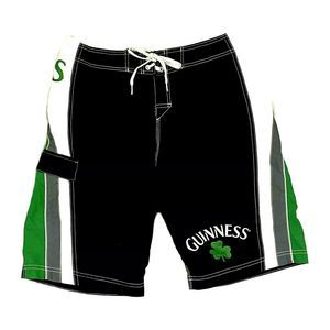 Guinness Official Gear Clover Board Shorts Swim